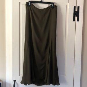 Ralph Lauren silk maxi skirt